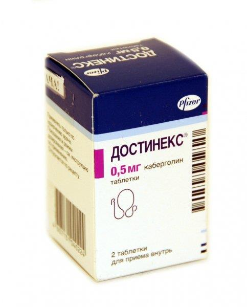 Dostinex and depression medication